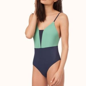 Lively x Madewell The V-One Piece S